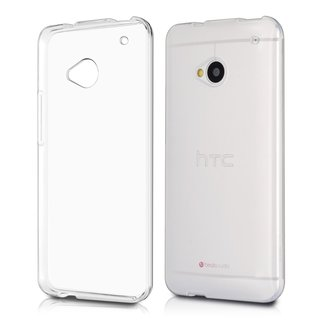 Handyhülle Ultraslim TPU HTC One M7 Transparent